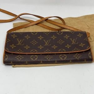 Authentic Louis Vuitton Twin Pochette GM